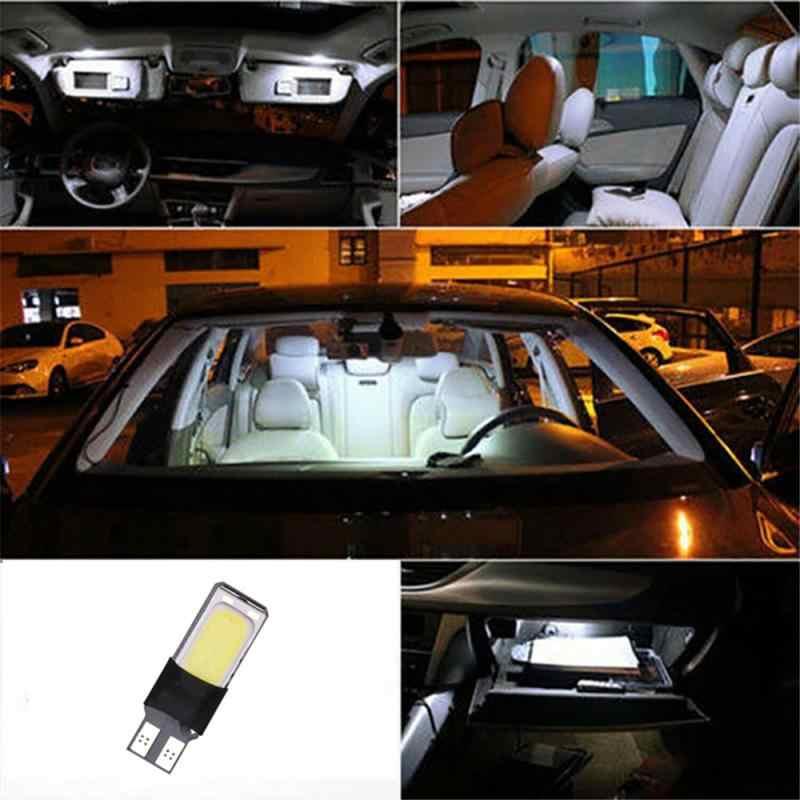 Çözme araba gösterge ışığı T10 LED COB 12SMD lisans işık İç okuma işık beyaz/mavi/kırmızı/buz mavi/mor/sarı/yeşil