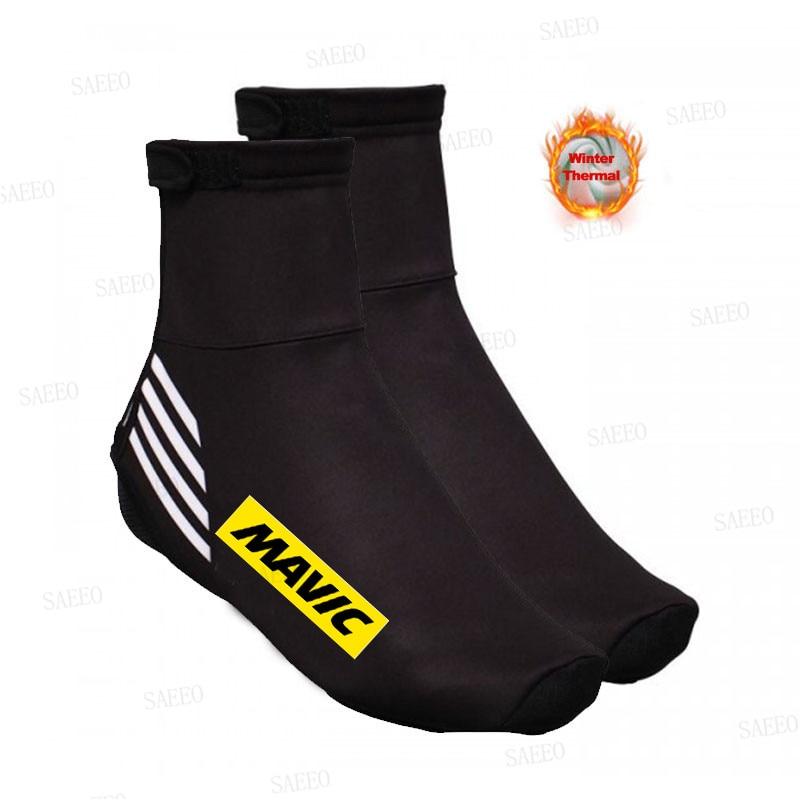 Nova mavic inverno térmica ciclismo sapato capa esporte mans mtb sapatos de bicicleta cobre cubre ciclismo para o homem lycra