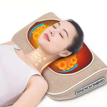 Multi-function Massager Back  Electric Multifunctional Neck Massage  Home Cervical Shiatsu Massage Pillow Cushion Massager car neck pillow electric massage pillow massager cushion relax neck back shoulder pillows with heating