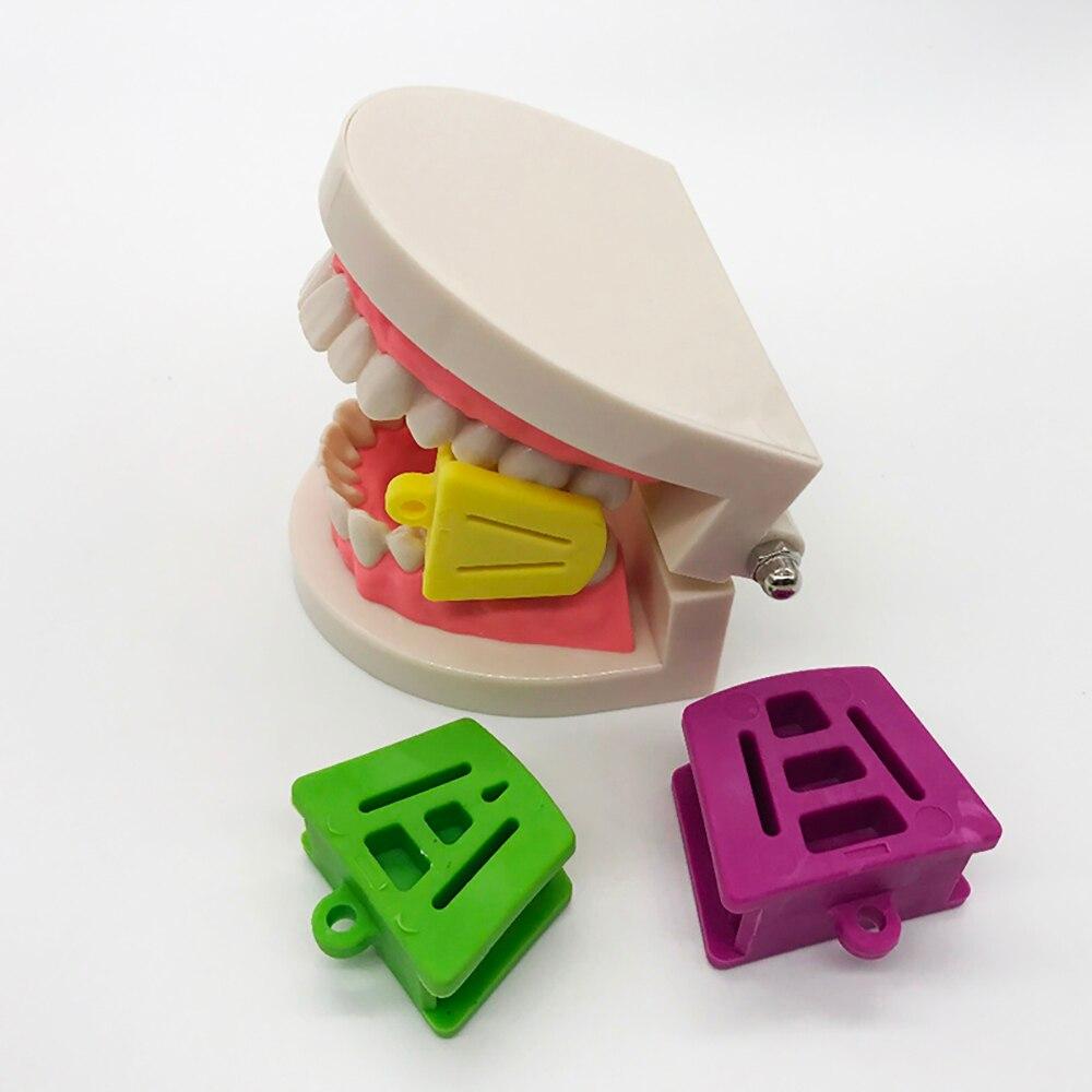 3pcs/set Dental Occlusal Pad Teeth Prop Bite Rubber Opener Retractor Dental Tools Dentistry Instrument Dentist Materials