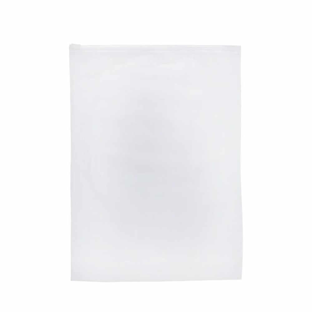 NHỰA PVC Túi cho Du Lịch Chiếm Hành Lý Túi Chống Thấm Nước Giày Dép Túi Vải Trong Suốt Khóa Zip Sắp Xếp Lưu Trữ Túi
