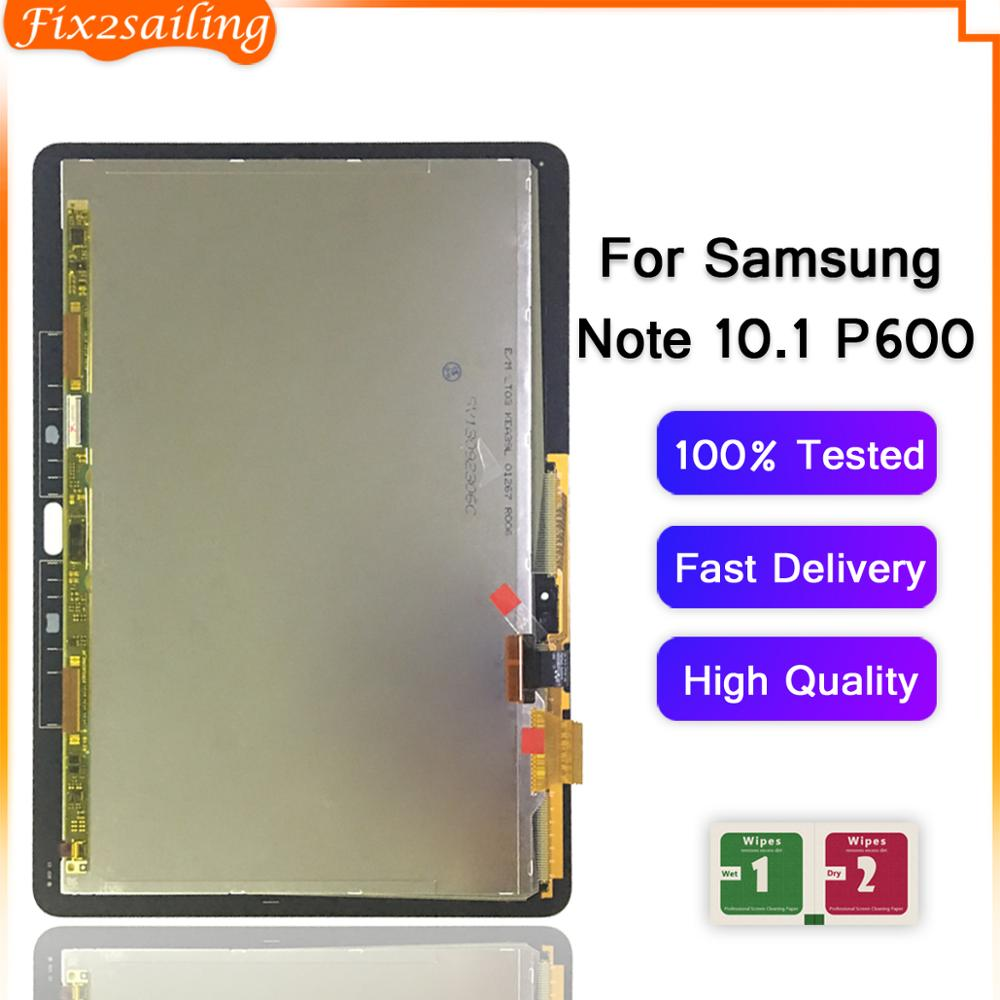 ЖК-дисплей для Samsung Galaxy Note 10,1 P600 P601 P605, сменный сенсорный экран с цифровым преобразователем для SAMSUNG P600 P605