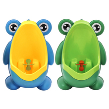 Baby Boy Potty Toilet Training Frog Children Stand Vertical Urinal Boys Penico Portatil Pee Infant Toddler Wall-Mounted