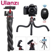 Ulanzi MT 11 Travel Flexible Octopus Tripod for Smartphone DSLR SLR Vlog Tripod for Camera iPhone Huawei Portable 2 in 1 Tripod