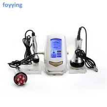 3в1 ультразвуковая липосакция 40K кавитационная вакуумная многополярная бицветная RF лазерная машина для похудения, радиочастотная машина для салона тела кожи