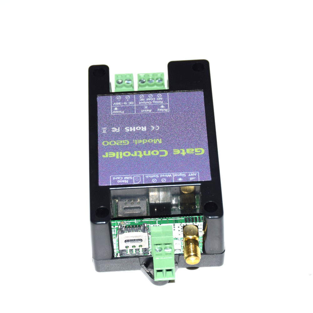 GSM Gate Opener Relay Switch Phone Wireless Remote Control Door Access To Replace RTU5024