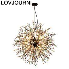 Eetkamer Pendant E Para Sala De Jantar Lustre Pendente Led Loft Deco Maison Crystal Light Lampara Colgante Hanging Lamp Hanglamp