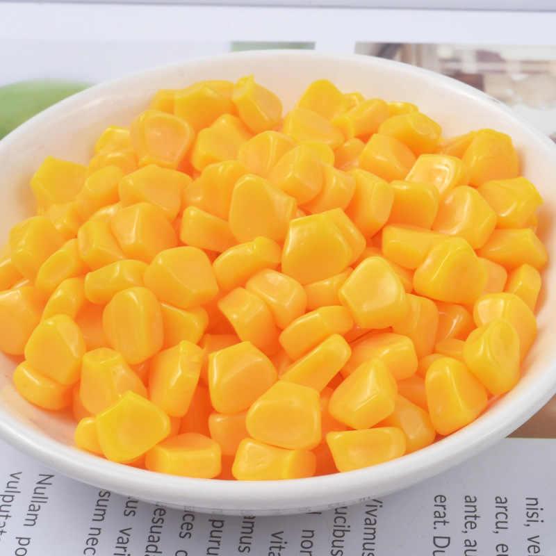 Addition Slime fournitures accessoires maïs noyaux moule décoration pour charme Lizun Slime remplissage Slime enfants jouets décoration cadeau