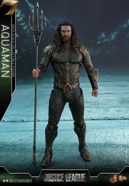Full set figure Hot Toys MMS447 1/6 Scale Aquaman Jason Momoa Action Figure doll toys for fans Collection Gift