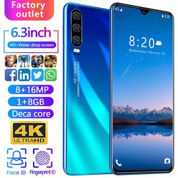 P3pro Smart Android Mobile Phone 1 + 8G Quad-core New Hot Selling Mobile Phone
