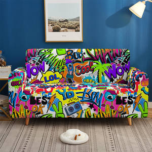 Sofa-Covers Armchair Living-Room Elastic Case1-2-3-4-Seater Collection 3D