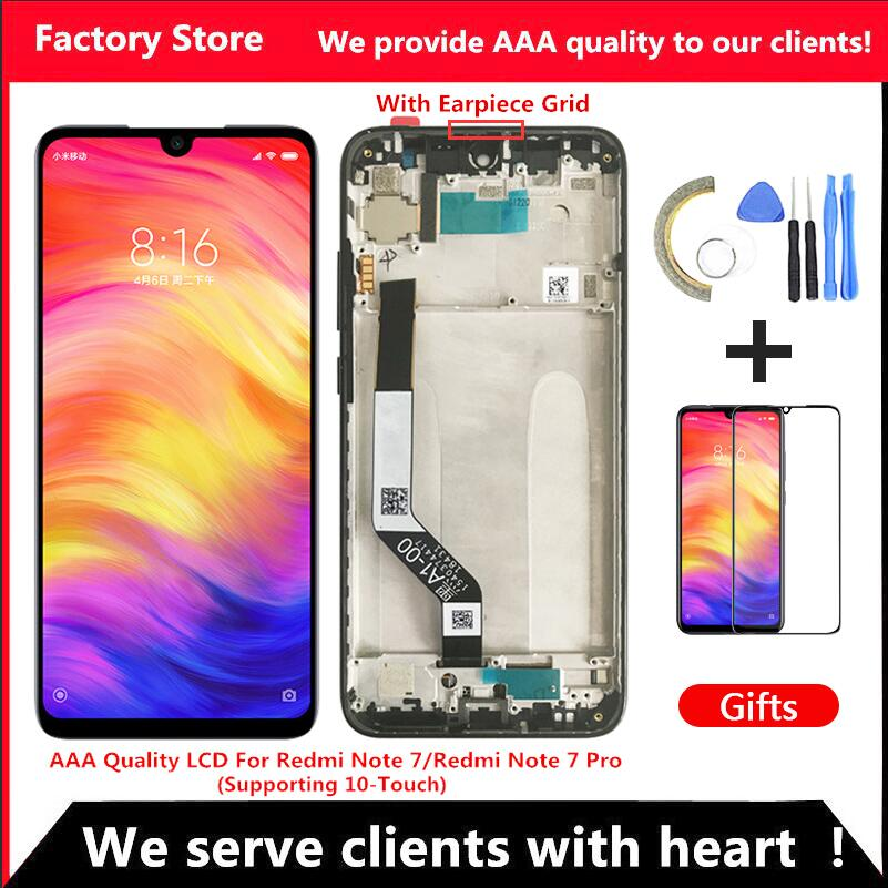 LCD Frame-Display-Screen Xiaomi Redmi Note7-Pro 10-Touch for with Aaa-Quality title=