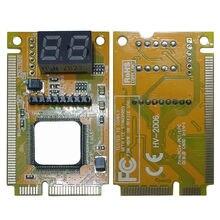 2-цифра Портативный компьютер PC Mini PCI-E LPC ноутбук анализатор тестер материнская плата печатная плата для отладки проверки диагностическая карта