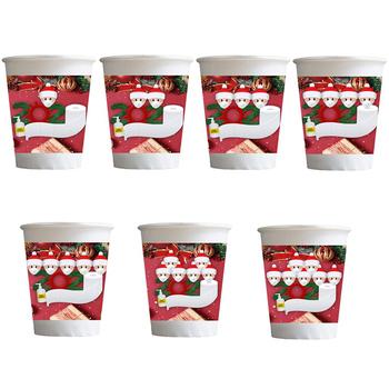 10 sztuk zestaw boże narodzenie Santa Claus Cupcake foremki do pieczenia foremki do babeczek papieru ciasto foremka ciasto dekorowanie narzędzia tanie i dobre opinie CN (pochodzenie)