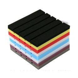 25*25cm Acoustic Panels Soundproof Wall Stickers Sponge Studio Foam Treatment Excellent Sound Insulation Sticker Decoration