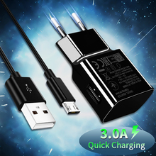gocomma travel charger kit type c usb adapter 3A Quick Charge 3.0 USB Charger US EU Wall Mobile Phone Charger Adapter for iphone Samsung phone Travel Adapter USB Type C Cable