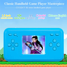 RS-28 1.8 inch color screen handheld game console video game console mini portable handheld player children classic game console(China)