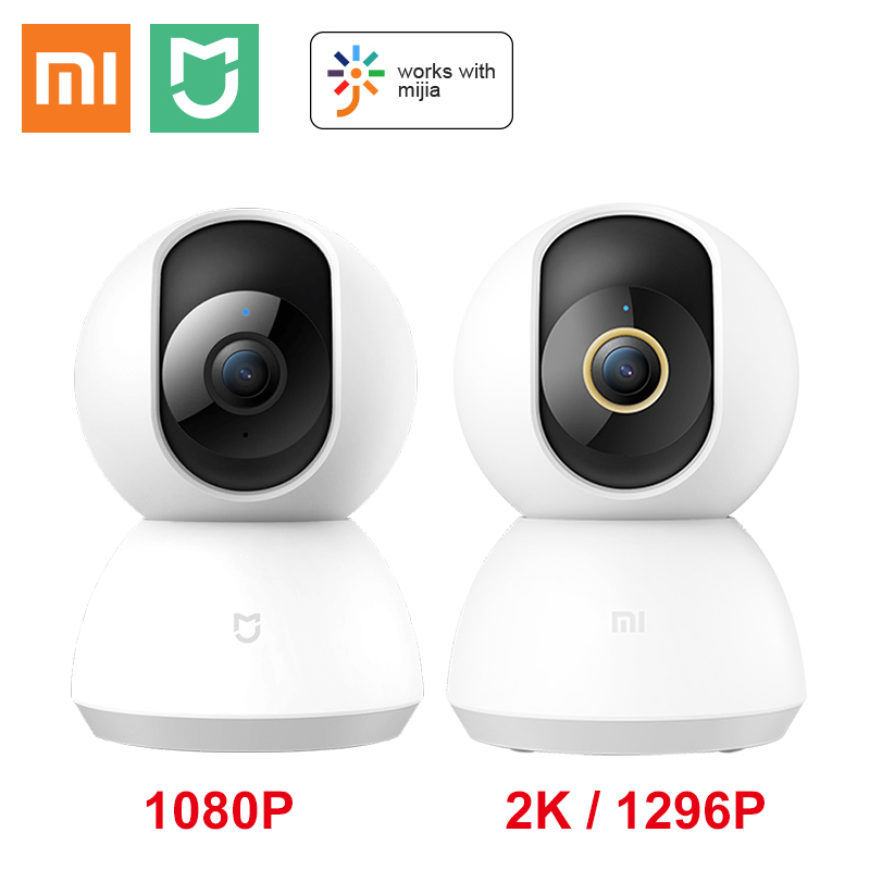 Updated Xiaomi Mijia Mi Smart IP Camera 2K 1296P HD WiFi 360 Angle Night Vision Pan Tilt Video Webcam Baby Home Security Monitor