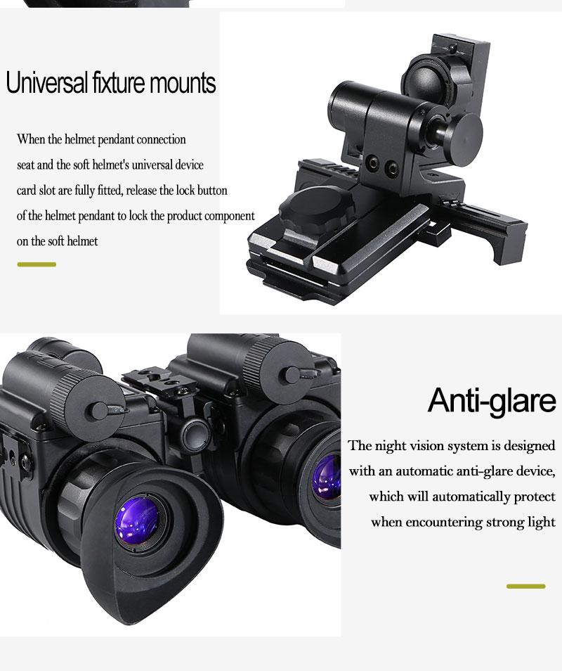 Hc95875860b9f485883eafa094218403ex - แว่นมองภาพกลางคืน กล้องมองภาพในที่มืดติดหัว IR Night Vision แว่นกลางคืน อินฟาเรตจับความร้อน เกรดใช้ในกองทัพทหาร ปฏิบัติการยุทธวิธีกลางคืน  <ul>  <li>แว่นตามองกลางคืนแบบสวมหัว</li>  <li>แว่นอินฟาเรต จับภาพด้วยความร้อน</li>  <li>ผลิตภัณฑ์เกรดกองทัพ</li>  <li>สามารถแยกส่วนเป็น 2ชิ้น ซ้าย-ขวา</li>  <li>มีฟังชั่นการซูมแบบกล้องส่องทางไกล</li>  <li>ของแท้ การรับประกัน 1ปี โดยผู้ผลิตในต่างประเทศ</li> </ul>