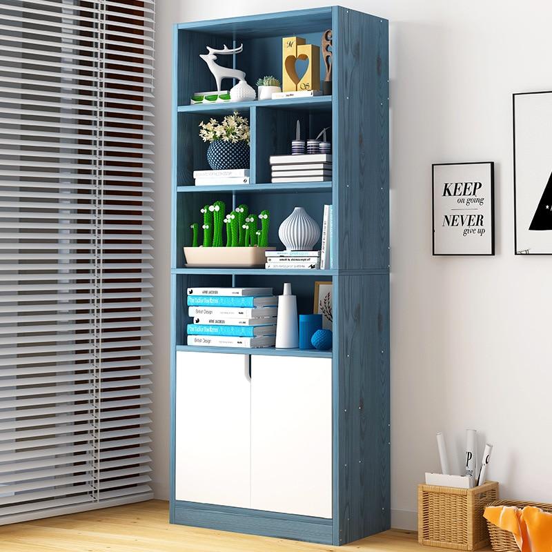 On Behalf Of Simple Bookcase Floor Storage Shelf Students Bookcase Combination Minimalist Modern Bookcase Multi-functional Cabin
