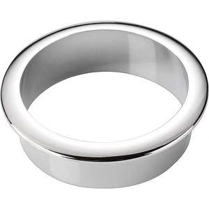 Image 4 - חם מתכת שולחן חוט חור כיסוי בסיס 60mm שולחן כבל לשקע מחשב Grommet יציאת מגן ארון vent דקור טבעת ריהוט חומרה