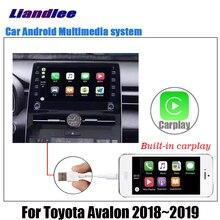 Araba Android multimedya oynatıcı Toyota Avalon için XX50 2018 2019 2020 Stereo radyo orijinal ekran video GPS haritası navigasyon sistemi