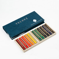 Calligraphy Ink 12 Colors Ink Stick Tinta China Para Dibujo Chinese Painting Colorful Ink Stick Landscape Drawing Inkstick Block