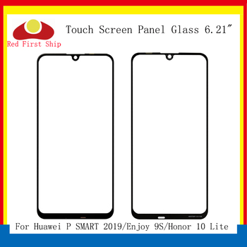10Pcs/lot Touch Screen For Huawei P Smart 2019 Touch Panel Front Outer Glass Lens Touchscreen Enjoy 9S LCD Glass Honor 10 Lite 10pcs lot for huawei ascend g610 c8815 g610 u20 touch screen touch panel sensor digitizer front outer glass lens touchscreen