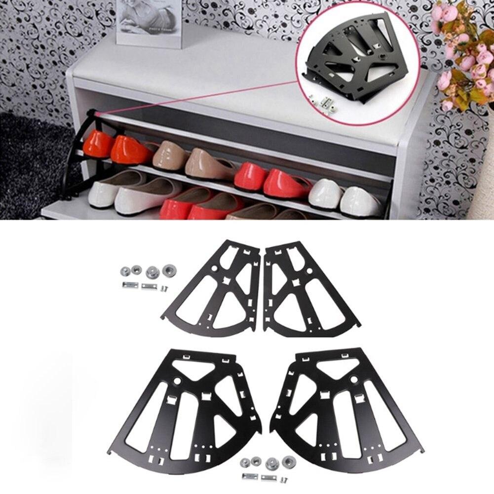 Ev Dekorasyonu'ten Dolap Menteşeleri'de 2 adet Flip çerçeve rafı ayakkabı rafı menteşe donanım aksesuarları dolap ev ALI88