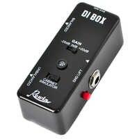 Rowin LEF-331 DI BOX Smart box input diretto con ultra bassa distorsione, è tranquillamente transers il suono di chitarra O il basso direttamente t