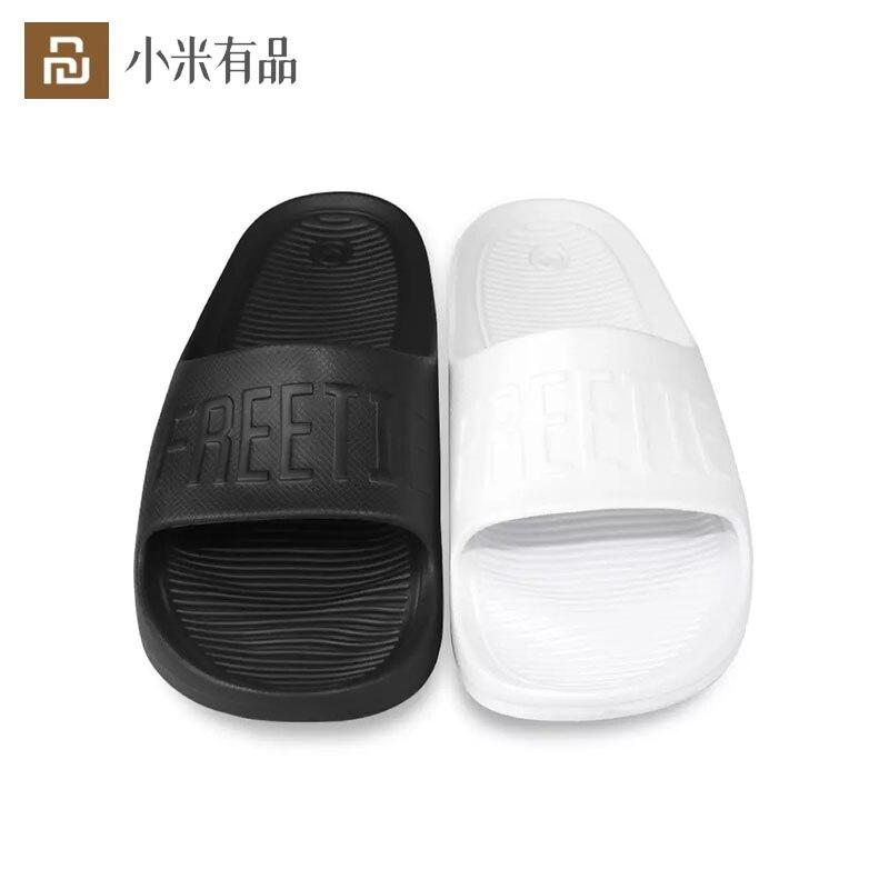 Xiaomi Mijia FREETIE LOGO Sport Slipper Man Woman Non Slip Groove Design Ergonomic Foot Bed Elastic Eva Material|Smart Remote Control| - AliExpress
