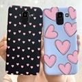 Чехол для Samsung Galaxy J6 Plus, Мягкий защитный чехол с сердечками для Samsung J6 2018 J6Plus 2018 J 6 Plus J610 J610F, чехлы