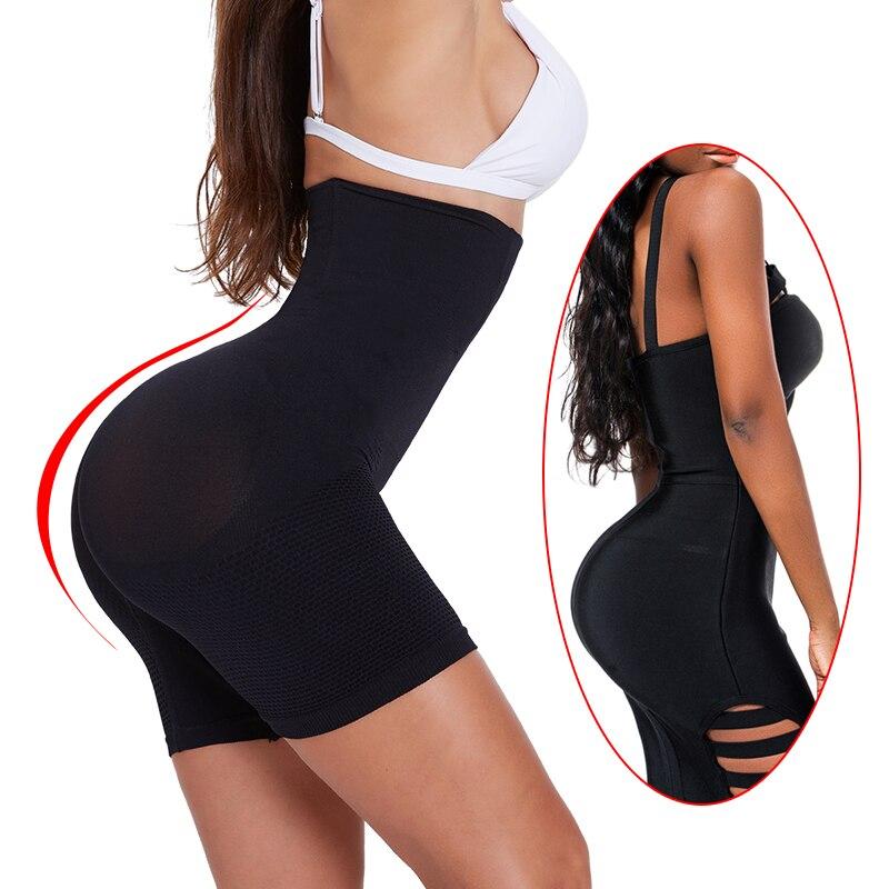 Image 3 - Shapewear Workout Waist Trainer Corset Butt lifter Tummy Control Plus Size Booty Lift Pulling Slimming Underwear Shaper pants-in Control Panties from Underwear & Sleepwears