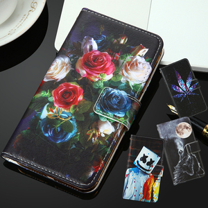For Infinix Hot 9 Global INOI 5 2021 7 2020 Kenxinda KXD D68S A1 4G LG Aristo 5 Fortune 3 PU Painted flip cover slot phone Case
