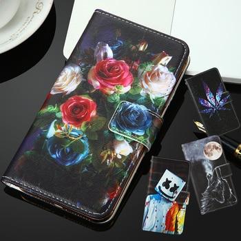 Para Infinix Hot 9 INOI 5 2021 7 2020 Kenxinda KXD D68S A1 4G LG Aristo 5 fortuna 3 PU tapa pintada flip ranura teléfono caso