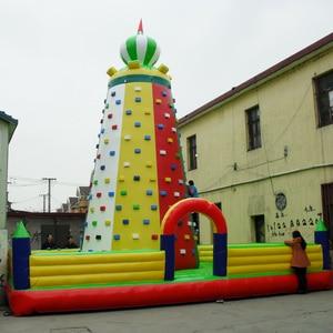 inflatable climbing wall kids