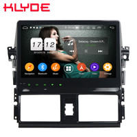 Klyde 10.1 IPS 4G Android 9 Octa Core 4GB RAM 64GB ROM DSP BT Car DVD Multimedia Player Stereo For Toyota Yaris Vios 2013 2016