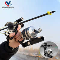 Catapulta de tiro de pez profesional con láser, accesorios de herramientas al aire libre, flecha, nueva actualización