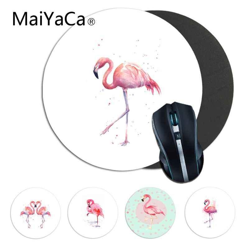 Maiyaca Custom Skin Cartoon Flamingo Gamer Geschwindigkeit Mäuse Einzelhandel Kleine Gummi Mauspad gaming Mauspad Teppich Für PC Laptop Notebook