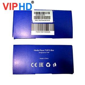 Image 4 - ТВ приставка vip605, ТВ приставка Linux, 4K, ОТТ, 8 ГБ, медиаплеер Amlogic S905X, Tvip S Box V.605, Tvip 605, Smart Tv приставка, 2020