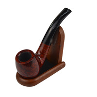 Hot Heather Handmade Pipe Filter Smoking Pipe Herb Tobacco Pipe Portable Man's Pipe Removable Filter Pipe Exquisite Gift AA