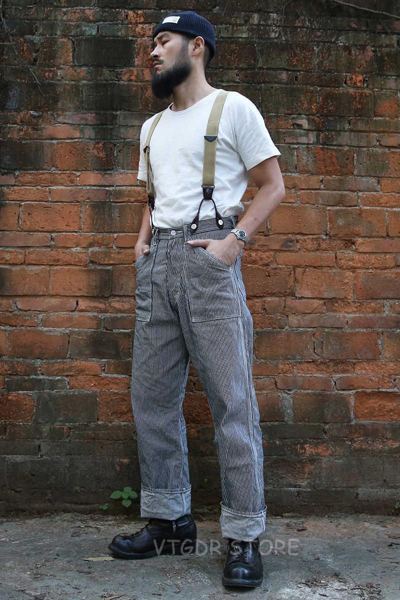 Bronson Pantalones De Trabajo Vintage Para Hombre Pantalones Rectos De Tiro Alto De 10oz Sin Lavar Pantalones Informales Aliexpress