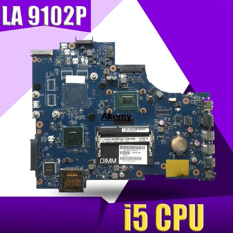 VAW11 LA-9102P REV: 17 De 1.0 For Dell Inspiron 3721 5721 Laptop Motherboard CN-03WVDR 03WVDR I5-3337U CPU Mainboard Originais