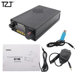 جهاز إرسال واستقبال TZT XIEGU G1M محمول QRP HF جهاز إرسال واستقبال SDR متعدد الموجات SSB CW AM