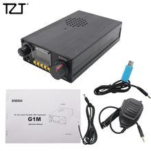 TZT XIEGU G1M taşınabilir QRP HF alıcı verici SDR alıcı verici çok bantlı SSB CW AM modları