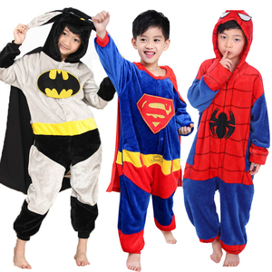 Kigurumi Girls Boys Pajama Kids jumpsuit Sleepwear Children Animal Flannel Licorne Onesies Baby Pegasus Sleepwear