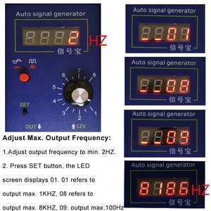 Image 4 - Auto Voertuig Signaal Simulator Generator Auto Hall Sensor En Krukas Positie Sensor Signaal Tester Meter 2Hz Tot 8 Khz