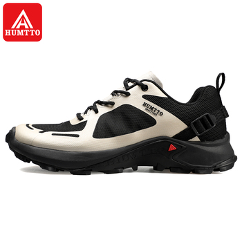 Humtto Men Outdoor Sports Hiking Shoes Breathable Mountain Climbing Footwear Trekking Sneakers Classic Casual Boots  summer gomnear hiking shoes women outdoor trekking non slip breathable damping sneakers tourism mountanineering climbing trend boots