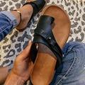 Summer Slipper Women Retro Flip-Flops Slippers Flat Casual Non-Slip Ladies Slides Beach Sandals Females Comfy women Shoes