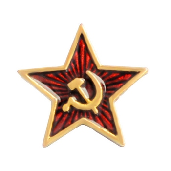 Fashion New Brooch Soviet Union Sign Communism Marx Pin Badge Classic Film Party Gift Kids Fans Christmas Gifts Brooches 1pc image